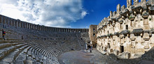 Ancient Roman Amphitheater Aga...