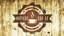 Retro Hottest Coffee Cup Tag W...