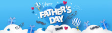 Happy Fathers Day Greeting Des...