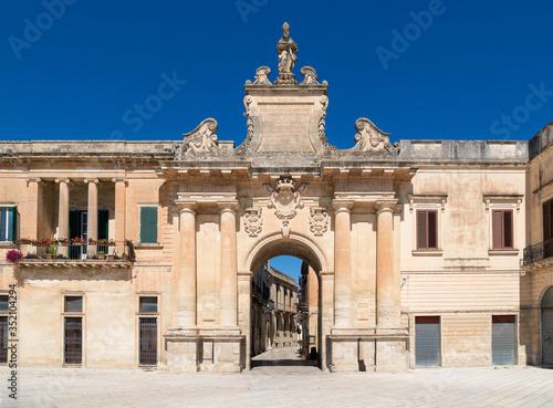 Porta San Biagio - Lecce - Salento Canvas Print