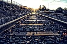 Surface Level Of Railway Tracks