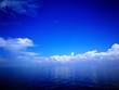 Leinwandbild Motiv Scenic View Of Sea Against Blue Sky
