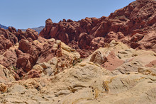 Patterns And Colors Of Rocky O...