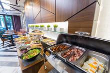 Buffet Breakfast Table In Mode...