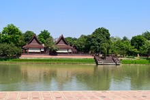 The River View In Ayutthaya.