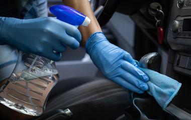 sanitizing car interior covid prevention