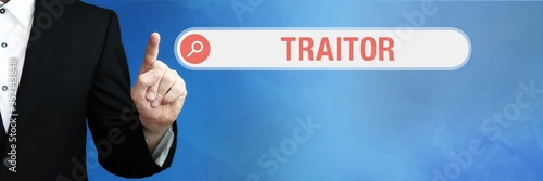 Traitor Fototapeta