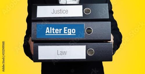 Obraz na płótnie Alter Ego