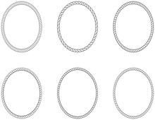 Seil Oder Kordel Ovale Kreis K...