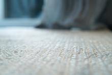 Pale Jute Floor Rag Background...