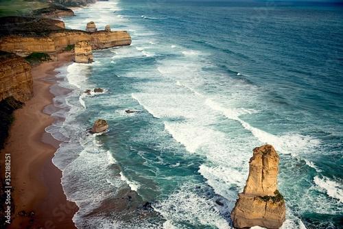 Canvastavla Scenic View Of Sea