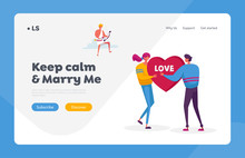 Fall In Love Landing Page Temp...