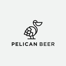 Pelican Logo / Beer Logo