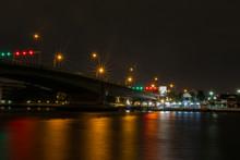 Somdet Phra Pinklao Bridge - Night
