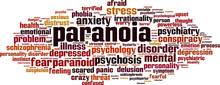 Paranoia Word Cloud