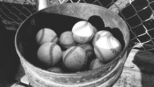 Baseballs In Bucket