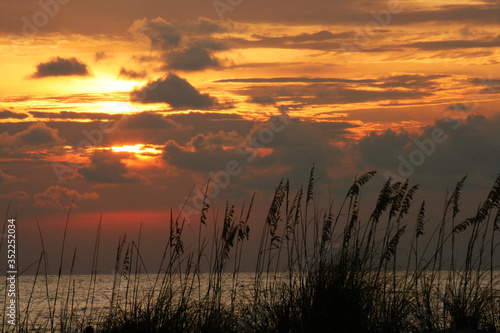 Fototapety, obrazy: Scenic View Of Sunset Over Lake