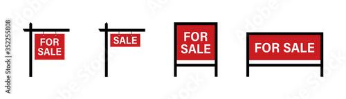 Fotomural Sale real estate signs