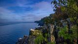 Fototapeta Fototapety z morzem do Twojej sypialni - Klifowe wybrzeże Bornholmu - duńskiej wyspie na Bałtyku