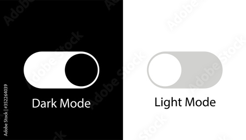 Day night switch vector icon Slika na platnu
