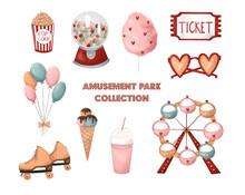Amusement Park Collection. Fer...
