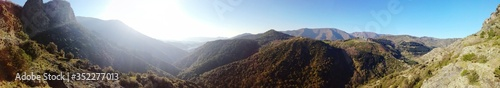 Fotografía Scenic View Of Mountains Against Clear Sky