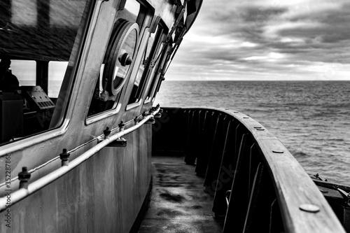 Pont de bateau Fotobehang