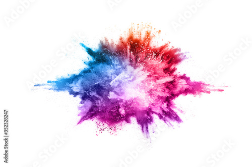 Tablou Canvas abstract powder splatted background