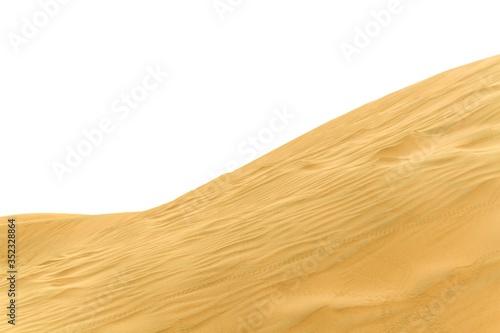 Sand Dunes In Desert Fototapeta