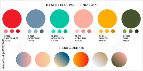 Stampa su Tela Fashion color trend Spring and Summer 2020 2021