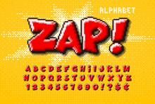 Pixel Vector Alphabet Design, ...