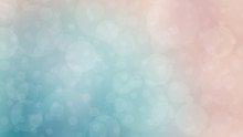 Soft Teal And Coral Textured Bokeh Background - Gradient