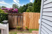 Side By Side Comparisons Of New And Old Wooden Fence