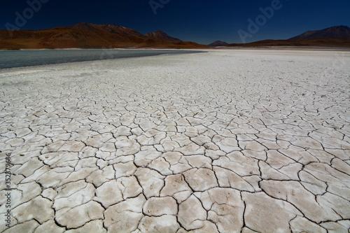 Tela Scenic View Of Desert Against Sky