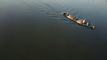 View Of Boat In Water