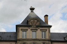 Clocher D'une Des Tours Du Vil...