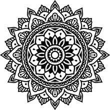 Circular Pattern Mandala Art D...