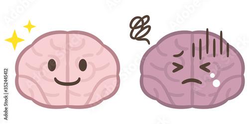 脳 病気 セット Canvas Print