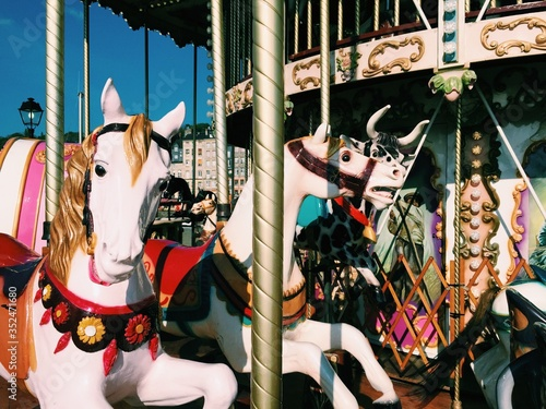 Valokuva Empty Merry-go-round
