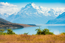 Mount Cook In The Aoraki Mount...
