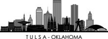 TULSA City Oklahoma Skyline Si...