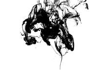 Illustration Of Black Ink Drop...