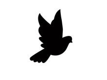 Bird Icon On White Background.bird Iconfor Web And App.
