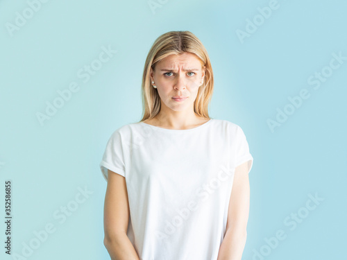 Photo Negative emotion and facial expression