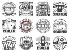 Casino Gambling Games Isolated...