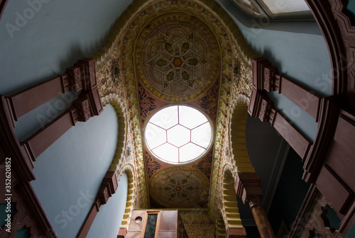 interior of famous building in Tbilisi Wallpaper Mural