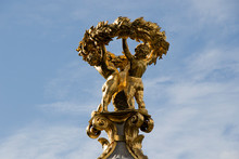 Statue In Berlin. Memorial To ...