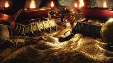 Pirate Treasures In A Dark Cav...