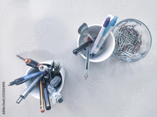 set of tools Canvas Print