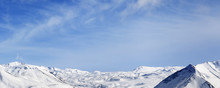 Panorama Of Winter Snowy Mount...